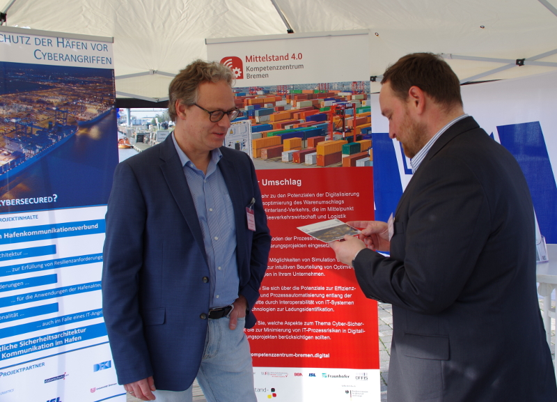 NMMT Symposium in Bremerhaven – SecProPort presented